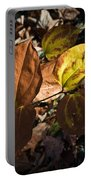 Sawbrier Or Greenbriar In The Fall Portable Battery Charger