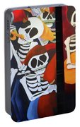 Sax Guitar Music Day Of The Dead  Portable Battery Charger