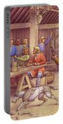 Saxons Carousing  Portable Battery Charger
