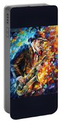 Saxophonist Portable Battery Charger