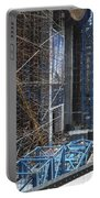 Scaffolding In The City Portable Battery Charger