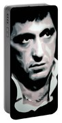 Scarface Portable Battery Charger by Luis Ludzska