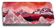Scarlet Glow Portable Battery Charger