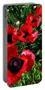 Scarlet Poppies Portable Battery Charger
