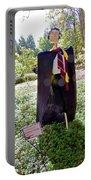 Scarry Potter Scarecrow At Cheekwood Botanical Gardens Portable Battery Charger