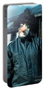 Scary Clown With Coat Portable Battery Charger