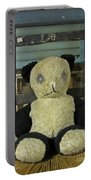 Scary Teddy Portable Battery Charger