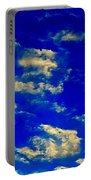 Scattered Clouds Portable Battery Charger