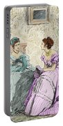 Scene From Anthony Trollope's Novel He Knew He Was Right Portable Battery Charger