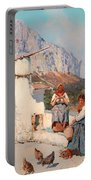 Scene From Capri Portable Battery Charger