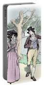 Scene From Sense And Sensibility By Jane Austen Portable Battery Charger