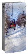 Scenery Around Timberline Ski Resort West Virginia Portable Battery Charger