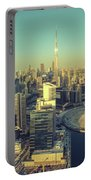 Scenic Aerial View Of Dubai Portable Battery Charger