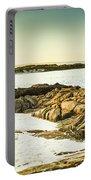 Scenic Coastal Dusk Portable Battery Charger