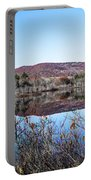 Scenic Lake On The Kancamangus Portable Battery Charger