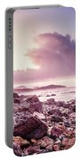 Scenic Seaside Sunrise Portable Battery Charger