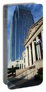 Schermerhorn Symphony Center Nashville Portable Battery Charger by Susanne Van Hulst