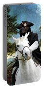 Schipperke Art Canvas Print - The Danube Valley Near Regensburg Portable Battery Charger