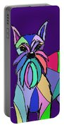 Schnauzer Colors Portable Battery Charger