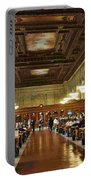 Schwarzman Building Portable Battery Charger
