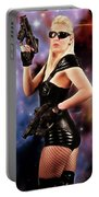 Scifi Heroine Portable Battery Charger