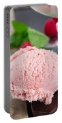 Scoop Of Icecream Portable Battery Charger
