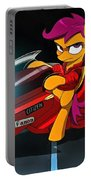 Scootaloo The Protester Portable Battery Charger