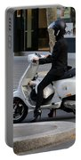 Scooter Girl Paris 1 Portable Battery Charger