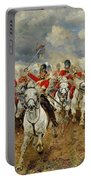 Scotland Forever Portable Battery Charger by Elizabeth Southerden Thompson