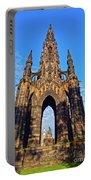 Scott Monument, Edinburgh, Scotland Portable Battery Charger