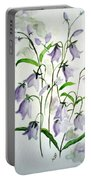 Scottish Blue Bells Portable Battery Charger