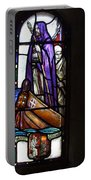 Scottish Stained Glass Window #2 Portable Battery Charger