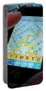 Scrabble Portable Battery Charger by Ron Bissett