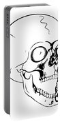 Screaming Skull Portable Battery Charger