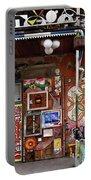 Sculptures And Art At Metelkova City Autonomous Cultural Center  Portable Battery Charger