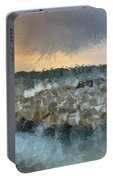 Sea And Stones Portable Battery Charger