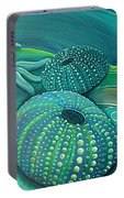 Sea Anemone Kina By Reina Cottier Portable Battery Charger