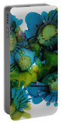 Sea Blooms Portable Battery Charger