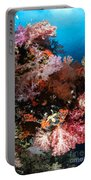 Sea Fans And Soft Coral, Fiji Portable Battery Charger