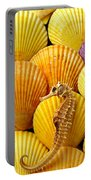 Sea Horse And Sea Shells Portable Battery Charger