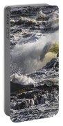 Sea In Turmoil Portable Battery Charger