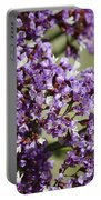 Sea Lavender Portable Battery Charger