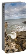 Sea Meets Rocks At Howick Portable Battery Charger