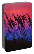 Sea Oat Sunset Portable Battery Charger