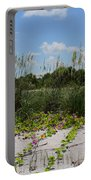 Sea Oats And Blooming Cross Vine Portable Battery Charger