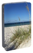 Sea Oats At The Beach Portable Battery Charger