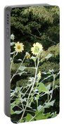 Sea Of Beautiful Flowers Portable Battery Charger