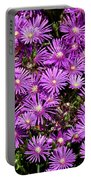 Sea Of Flowers Portable Battery Charger