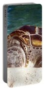 Sea Turtle Resting Portable Battery Charger
