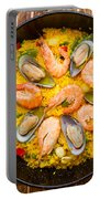 Seafood Paella  Portable Battery Charger